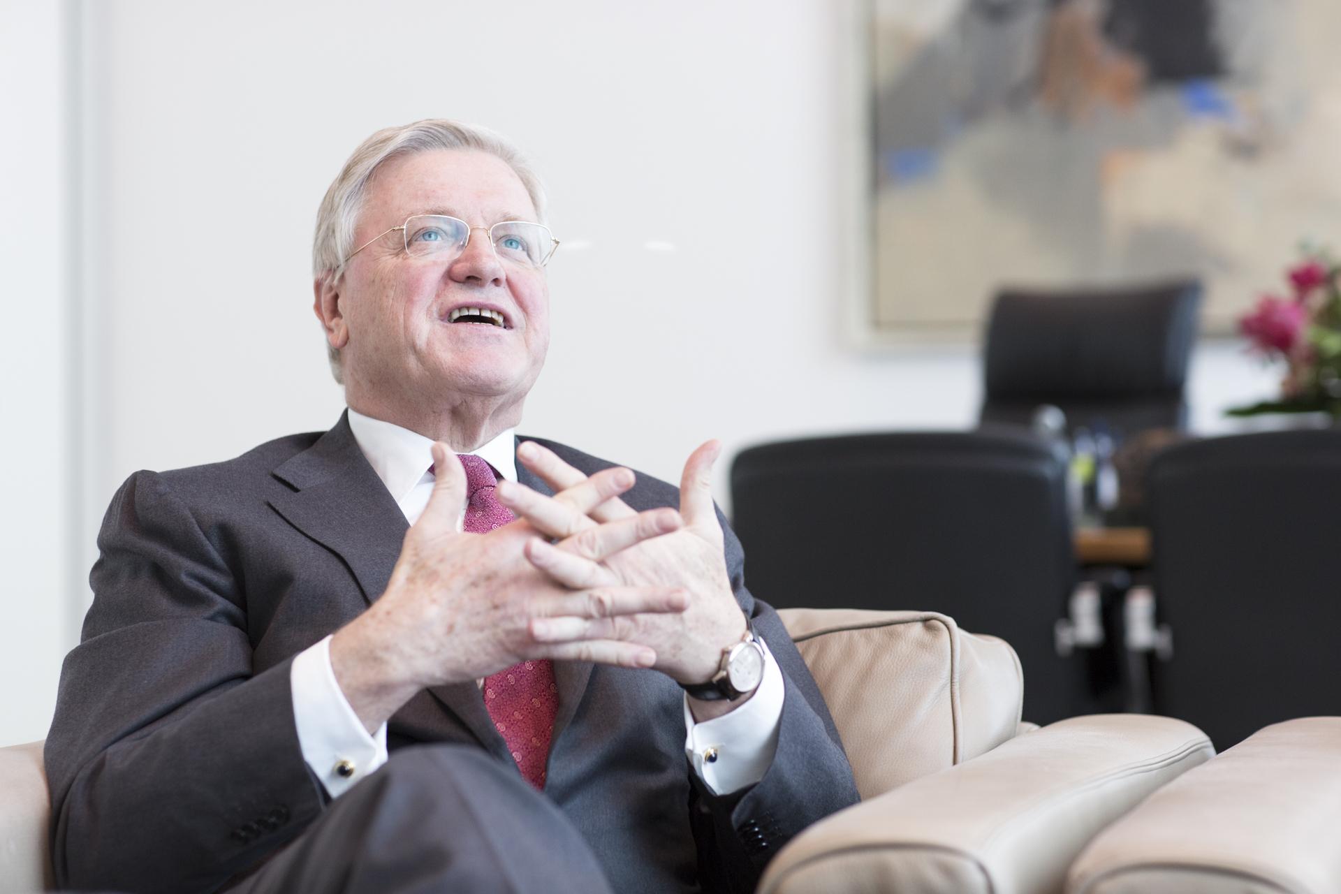 Werner Wenning, Vorsitzender des Aufsichtsrats der Bayer AG,
