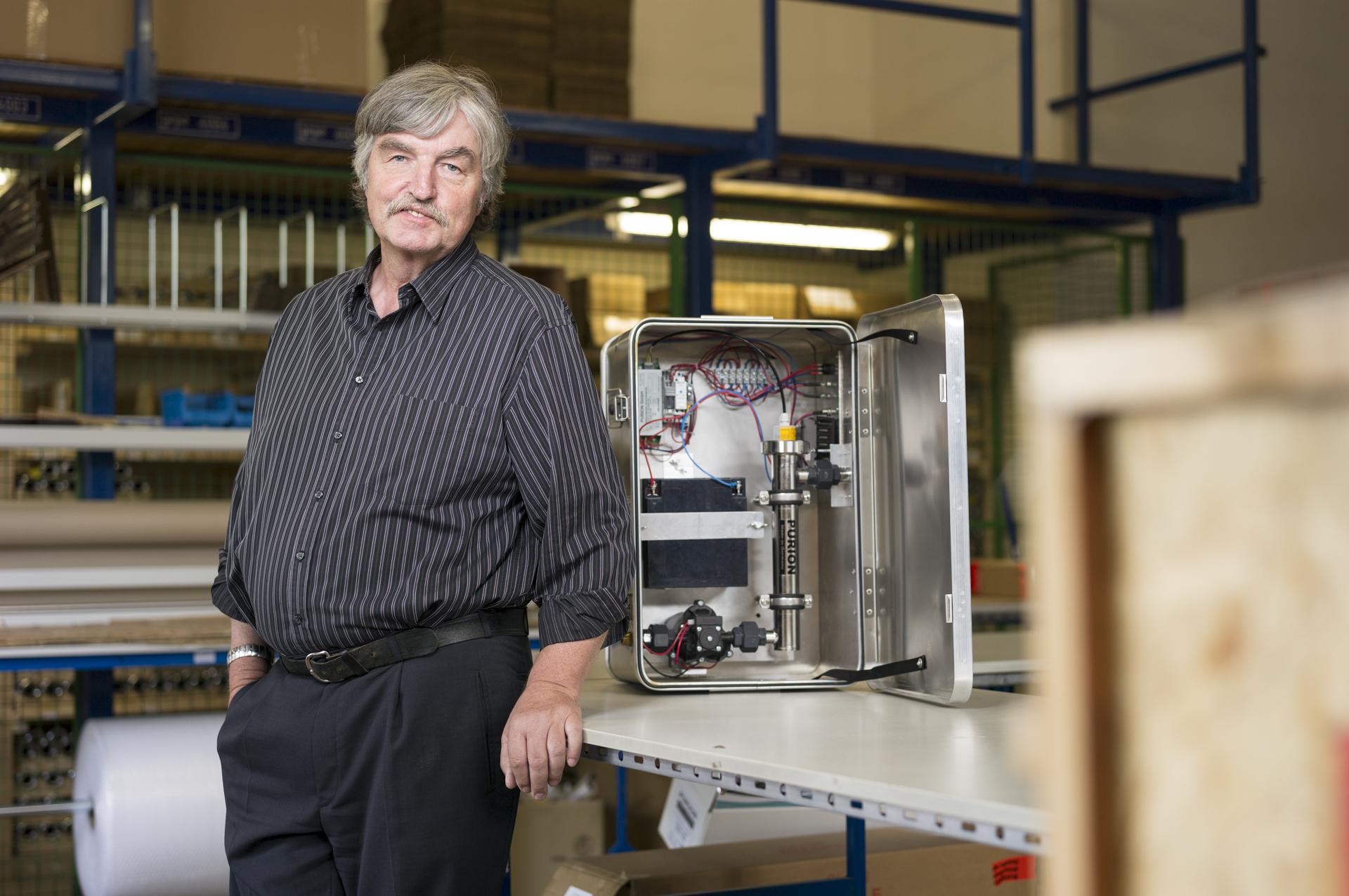 DEU, 98544 Zella-Mehlis, 02.06.2014, Walter Wipprich, PURION GmbH